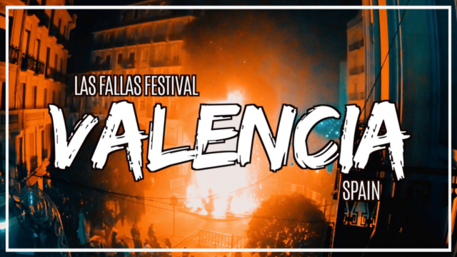 The Fire Festival in Valencia is a must see in Spain!