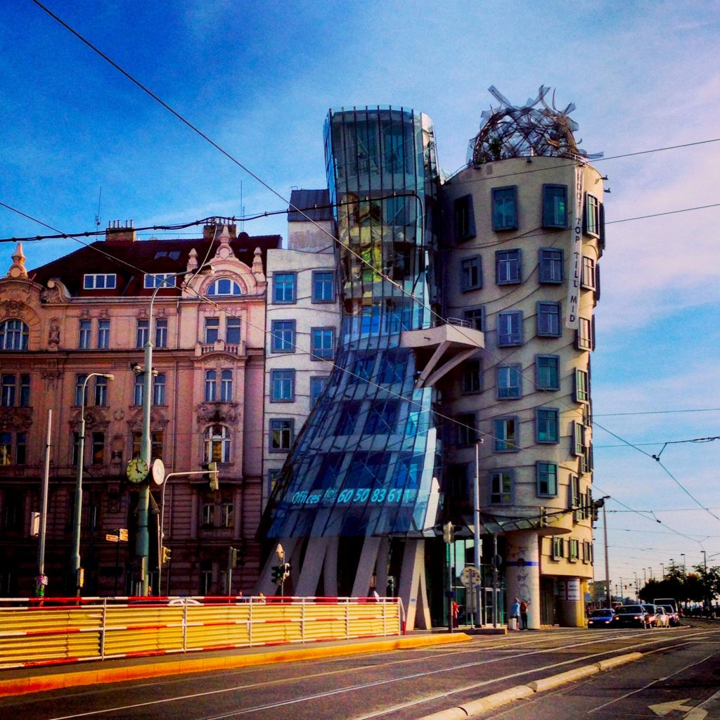 Things to do in Prague - see the Dancing House