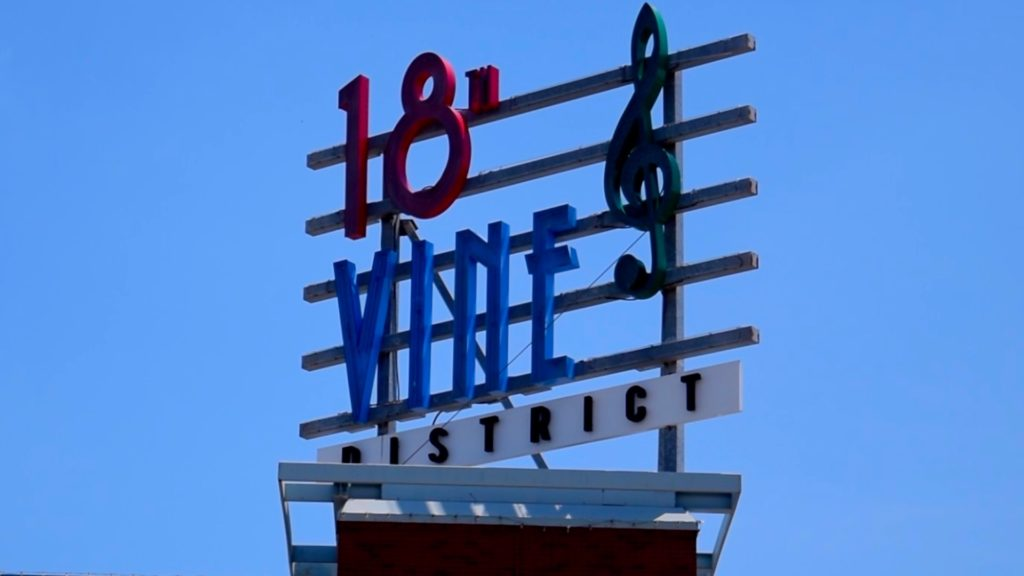 18th and Vine is the historic jazz district of Kansas City