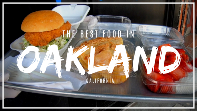 My aunt showed me the best places to eat in Oakland!