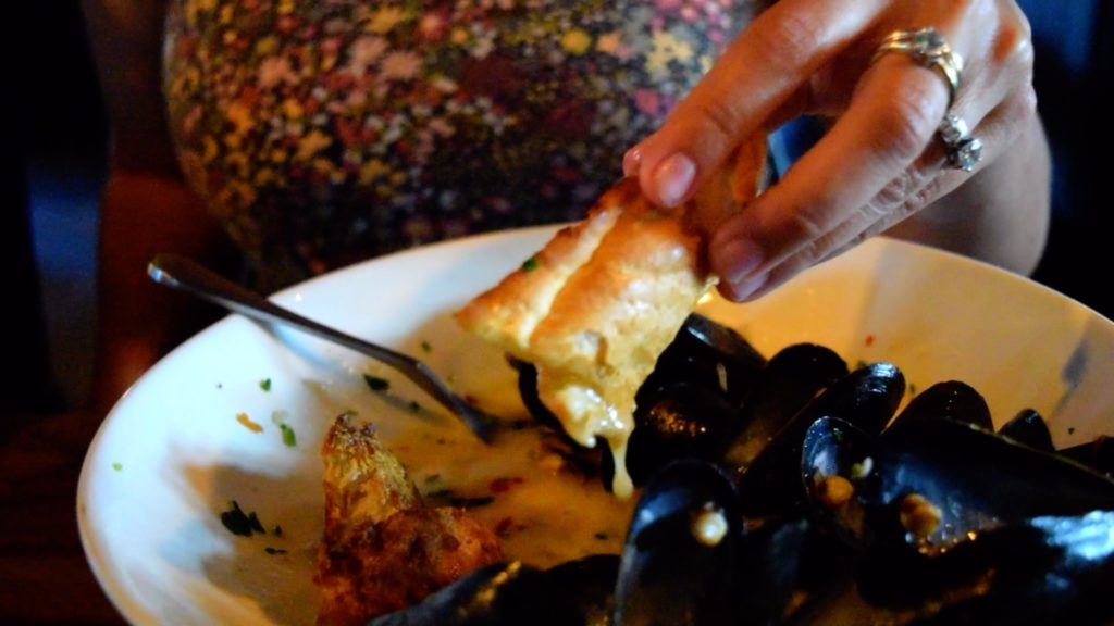 These mussels were freshly delivered from Maine!
