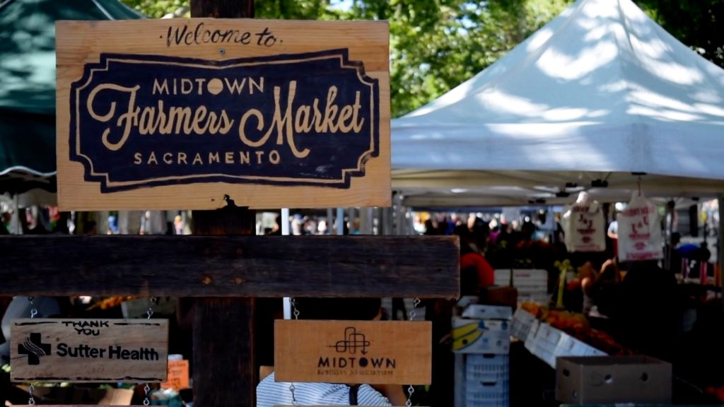 Stop by the Midtown Farmers Market every Saturday for fresh, local produce