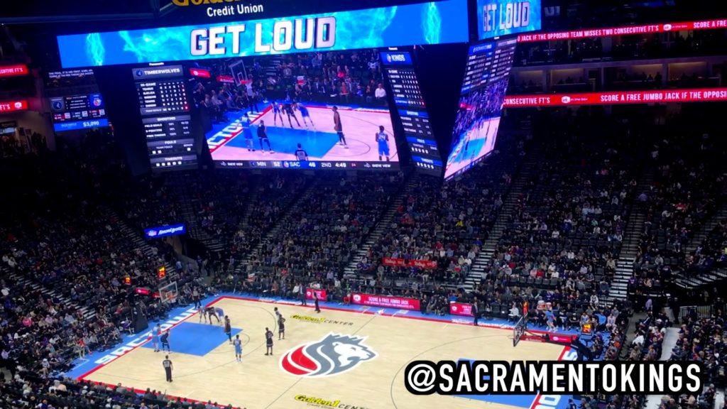 Catch a Sacramento Kings game at the Golden 1 Center