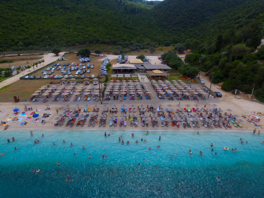Acron Antisamos Beach in Kefalonia