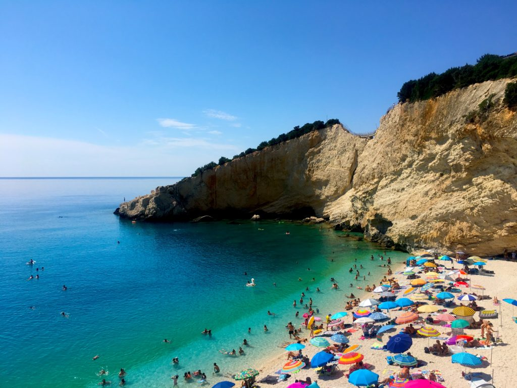 Relax on Porto Katsiki beach in Lefkada!
