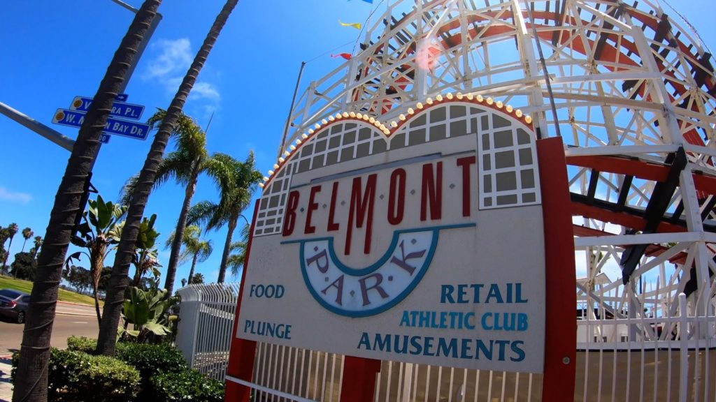 Belmont Park in San Diego has roller coasters, shopping, food, games, and more!