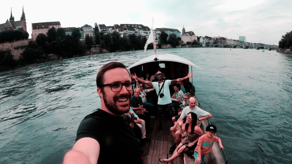Visit both sides of Basel, Switzerland on a scenic ferry ride!