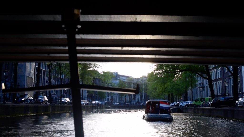 Tour Amsterdam on the canals with EuroTrip Adventures!
