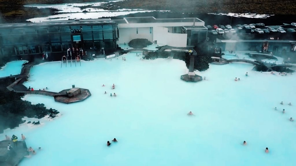 Visit the Blue Lagoon spa in Iceland