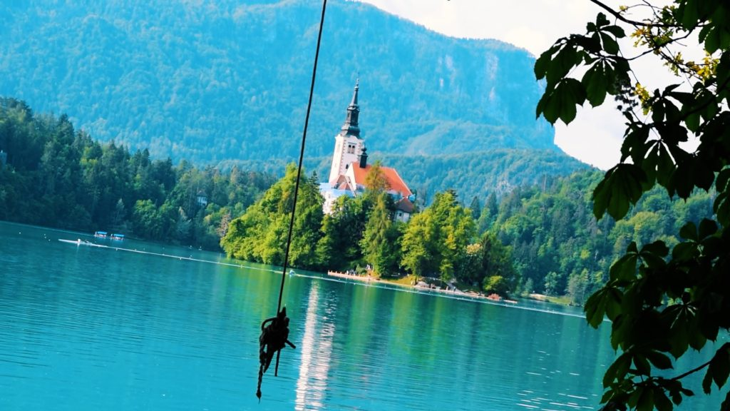 Lake Bled has hiking trails, castles, and cafes, all of which have a great view of the Lake