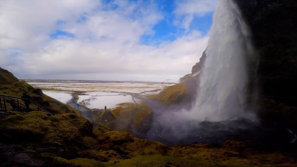 Walk around the entire Seljalandsfoss to get your perfect photograph