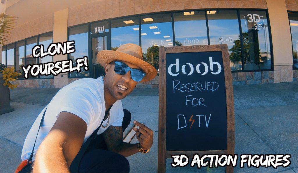 3D print yourself at doob!
