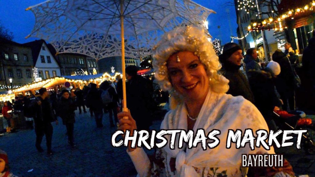 The Bayreuth Winterdorf takes over the marktplatz every holiday season