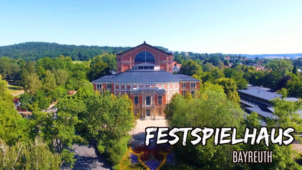 The Festspielhaus in Bayreuth, Germany