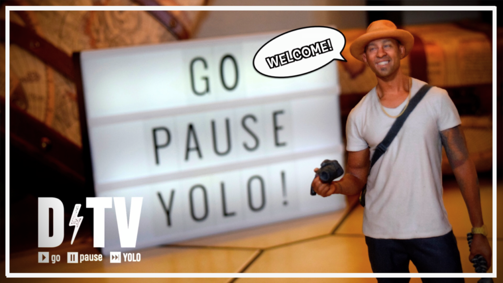 Go Pause YOLO with DTV