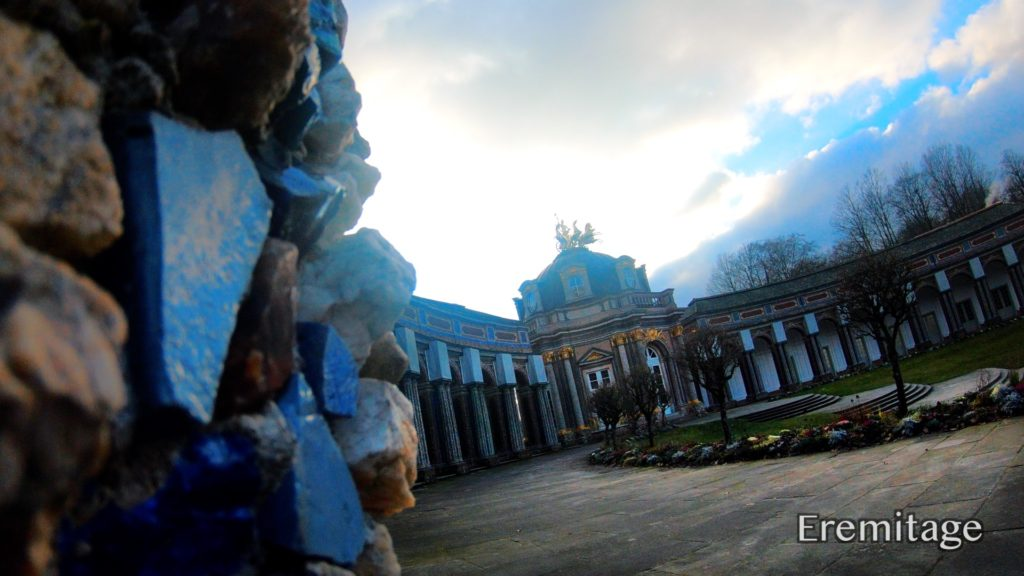 Tour the buildings and gardens at the Eremitage in Bayreuth