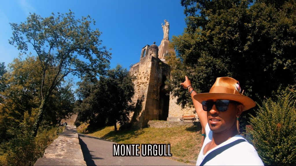 The climb up Monte Urgull to Mota Castle is a must to do in San Sebastian, Spain