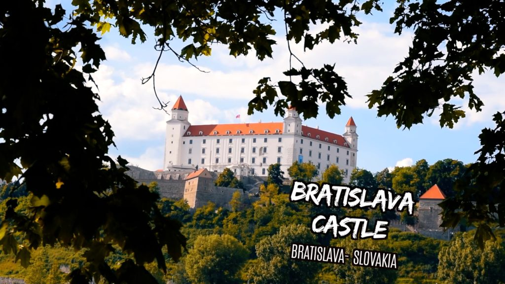 Bratislava castle is a highlight of visiting Central Europe
