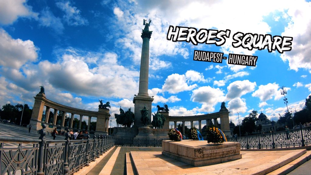 Heroes' Square in Budapest is a must-see