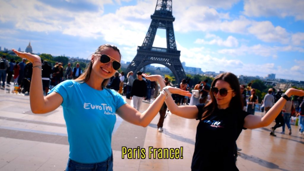 EuroTrip Adventures at the Eiffel Tower