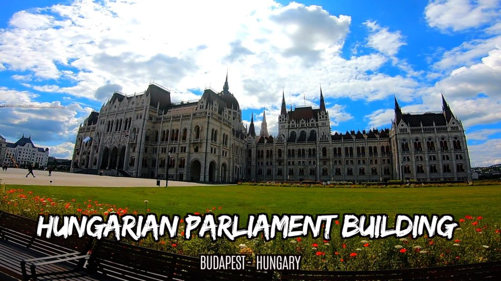 The Hungarian Parliament building in Budapest is designed in a neo-Gothic style