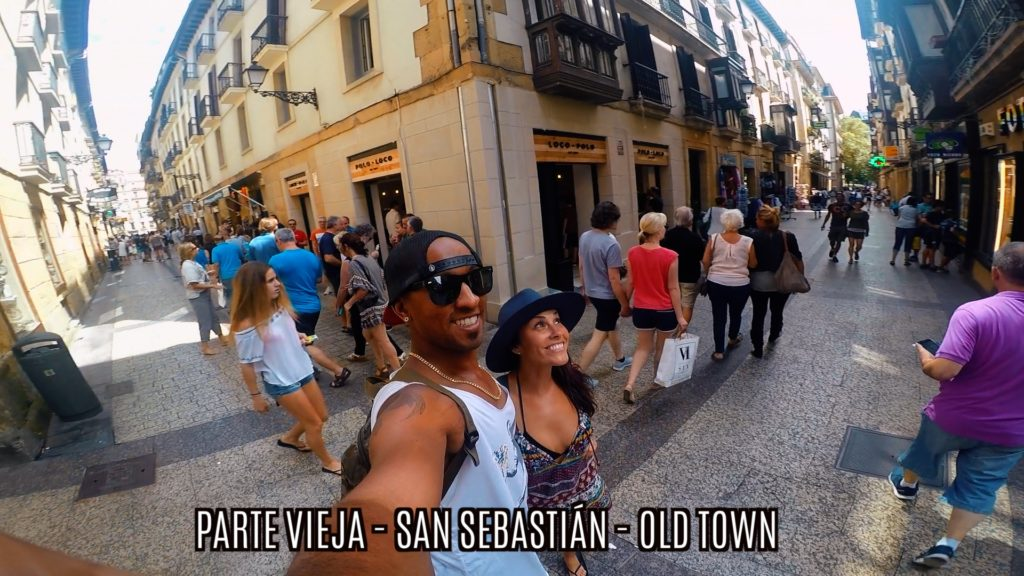 Parte Vieja is the Old Town in San Sebastian, where you'll find pintxos, cider, and music
