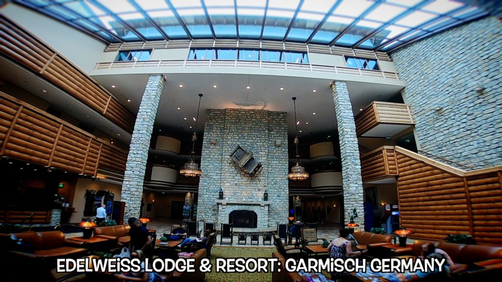 The Edelweiss Lodge is a beautiful getaway for members of the U.S. armed forces and authorized personnel