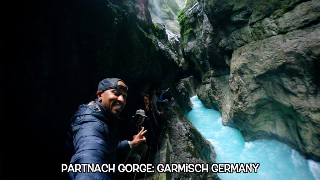 Bring a jacket - you will definitely get wet at Partnach Gorge!