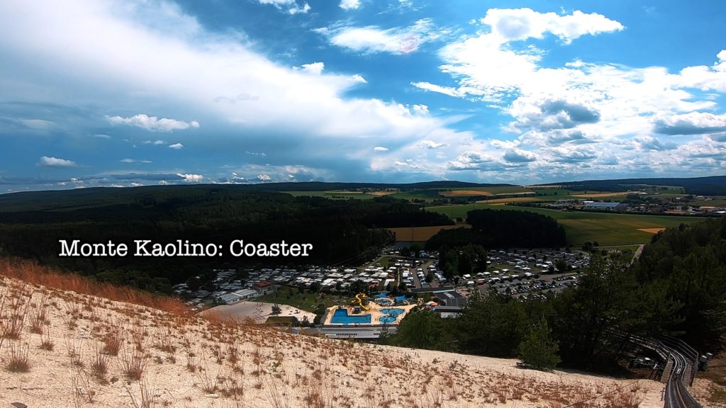 A scenic view from the Monte Coaster in Hirschau, Germany