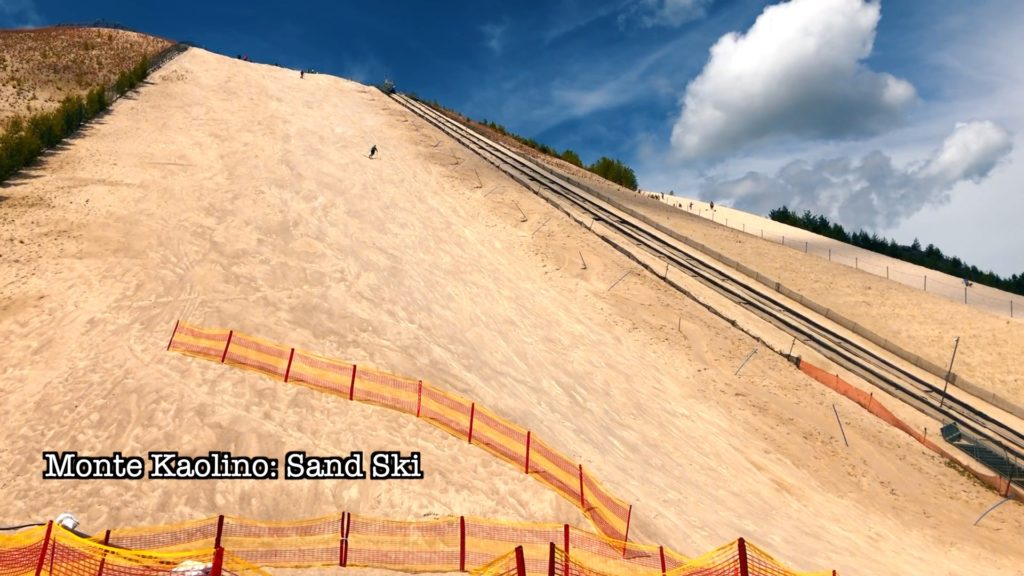 Ski or board down this giant sand dune in Hirschau!