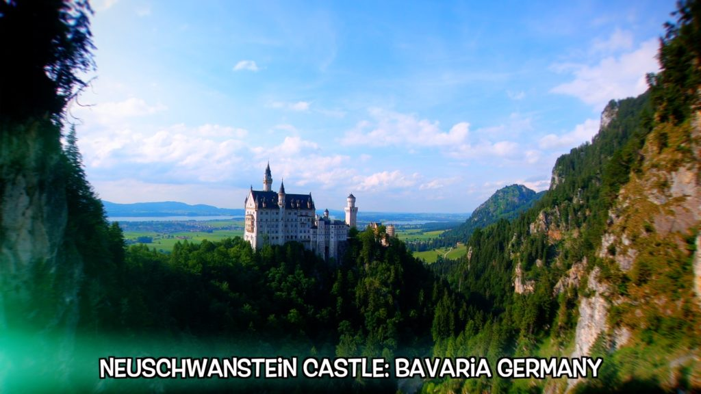 Neuschwanstein is an easy day trip if you're staying in Garmisch, Germany
