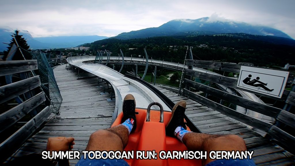 Get your thrills and enjoy the view in Garmisch, Germany!