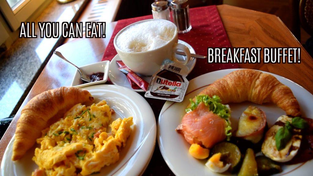 All you can eat breakfast at Wiener Cafe in Weiden in der Oberpfalz