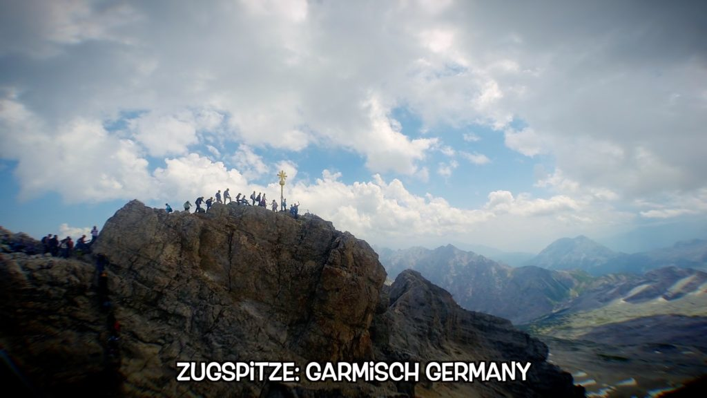 Conquer the highest point in Germany - the Zugspitze!