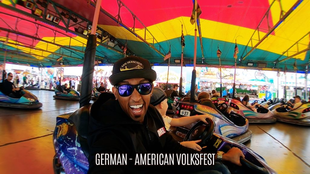 Who doesn't love bumper cars at a fair or fest?