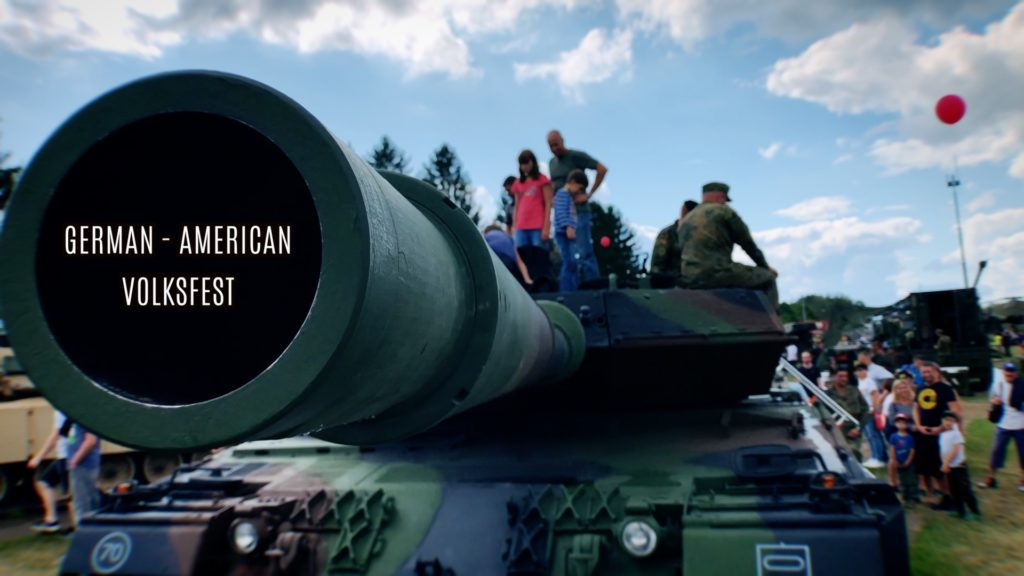 Get up close and personal with military vehicles at the German American Volkfest in Grafenwoehr