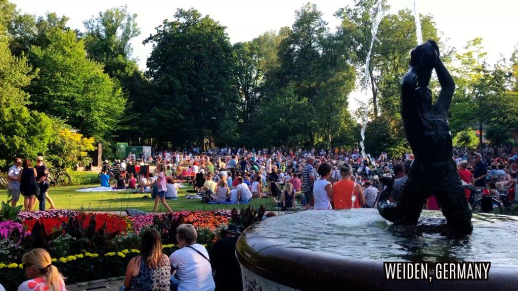Max-Reger-Park in Weiden