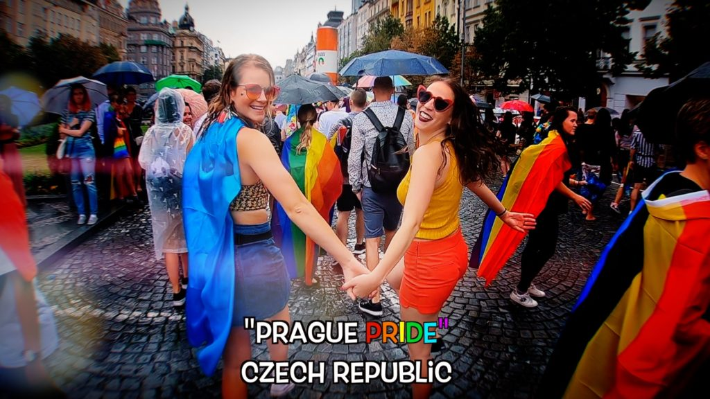 Everyone is welcome at Prague Pride!