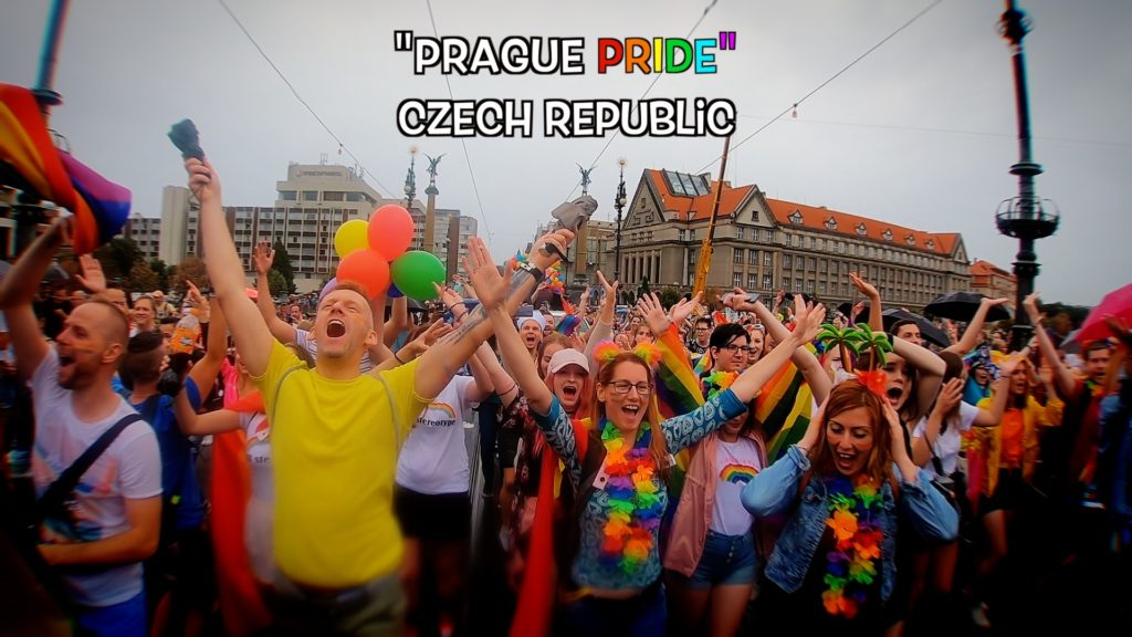 The Pride Festival in Prague concludes a week-long celebration of LGBT rights and activism