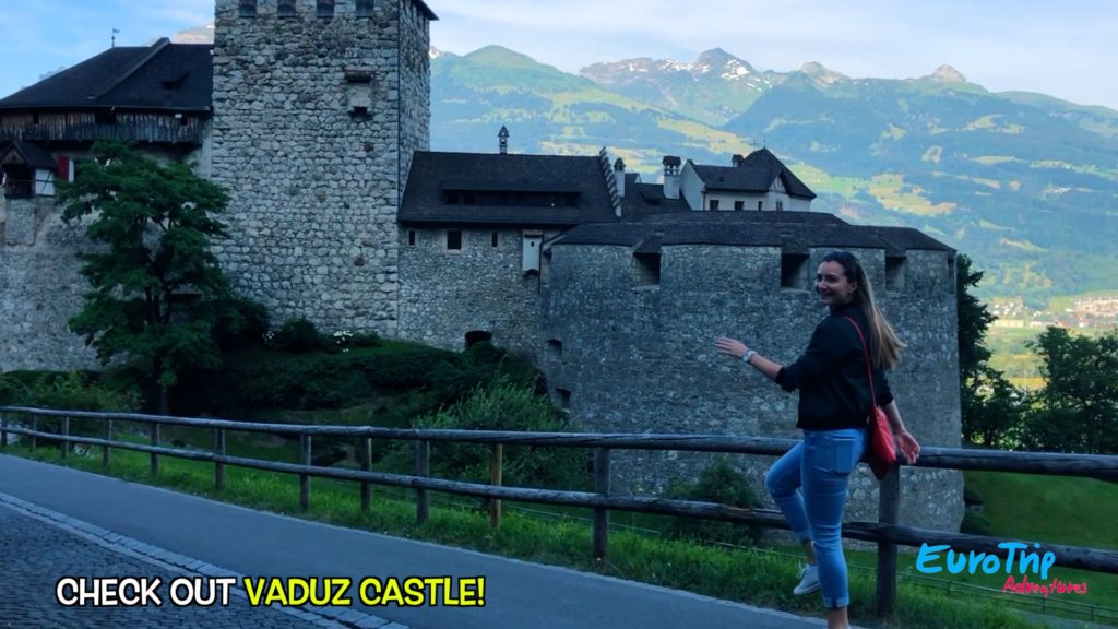Visit Vaduz Castle in Liechtenstein, where the royal family still resides!