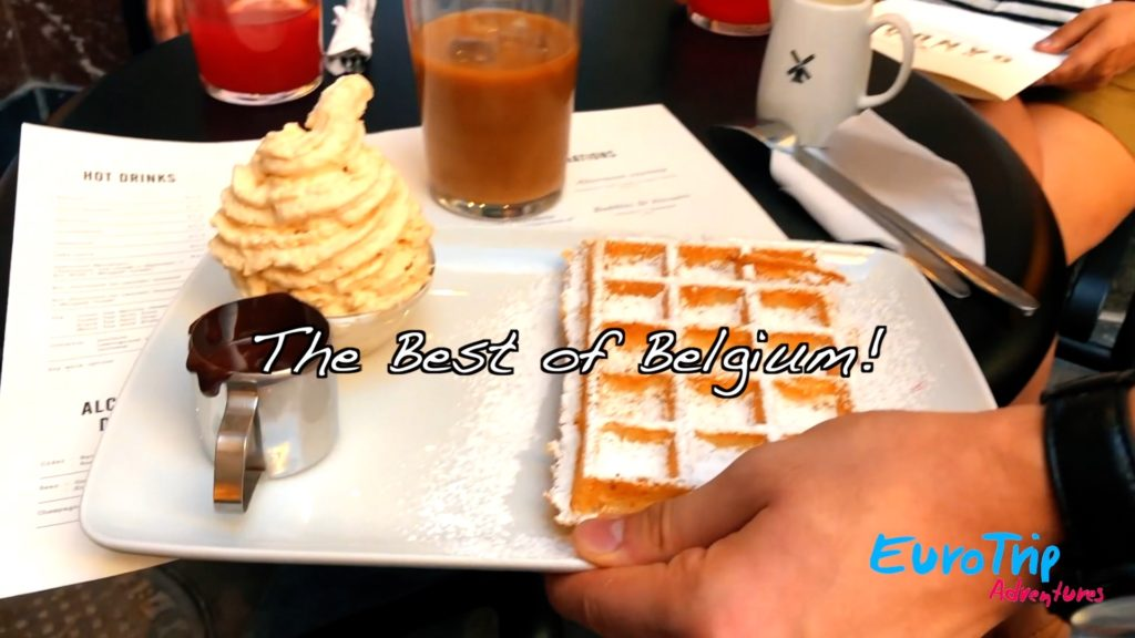 Belgian waffles, Beglian chocolate, and Belgian beer are all waiting for you in Brussels