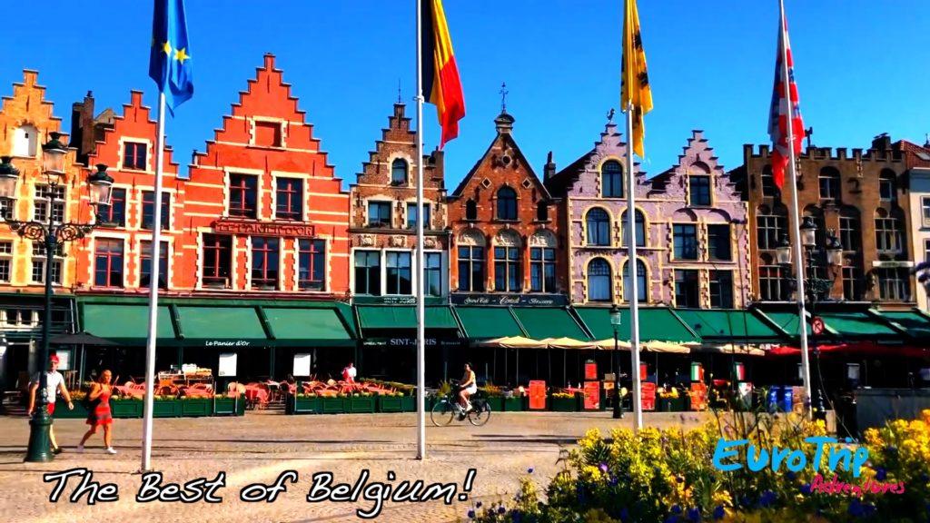 Architecture in Bruges, Belgium