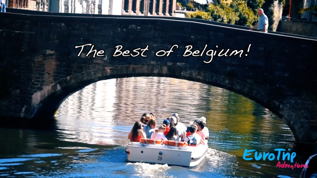 A canal cruise is a must when visiting Bruges!