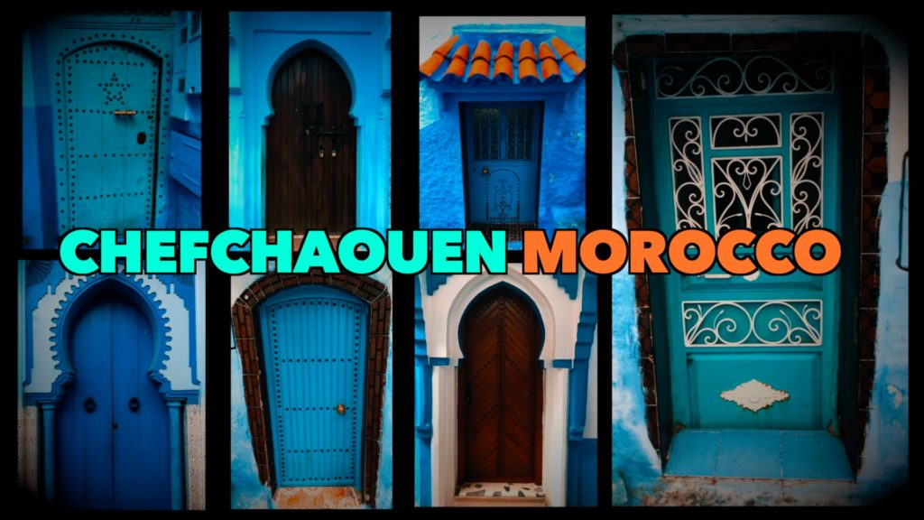 From simple to ornate, you'll find a beautiful variety of doorways in the Blue City!