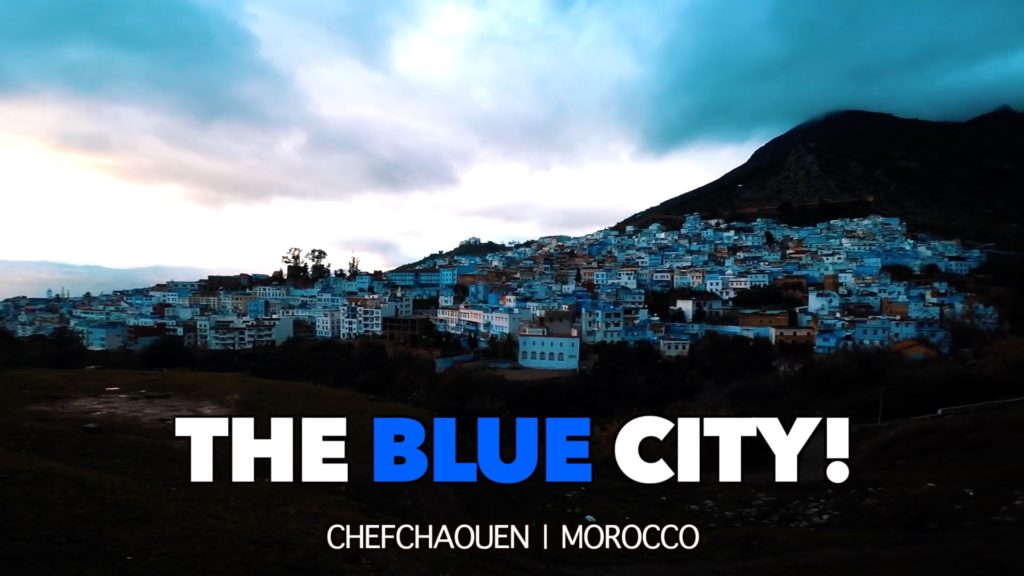 Less than 43,000 people live in the small town of Chefchaouen, Morocco, but they will all welcome you with mint tea!