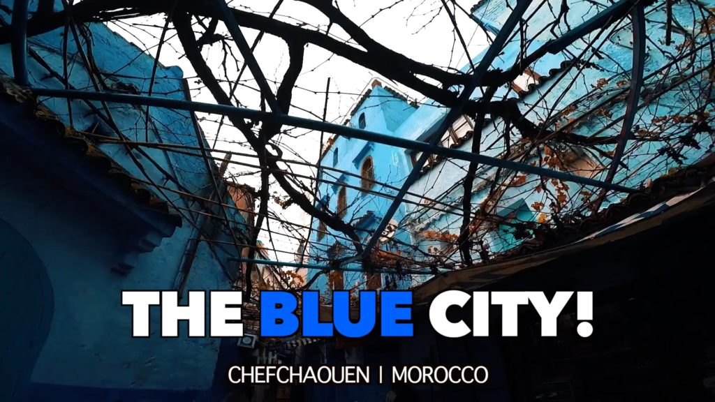 There aren't many things to do in Chefchaouen, but walking around the blue buildings will certainly fill your day