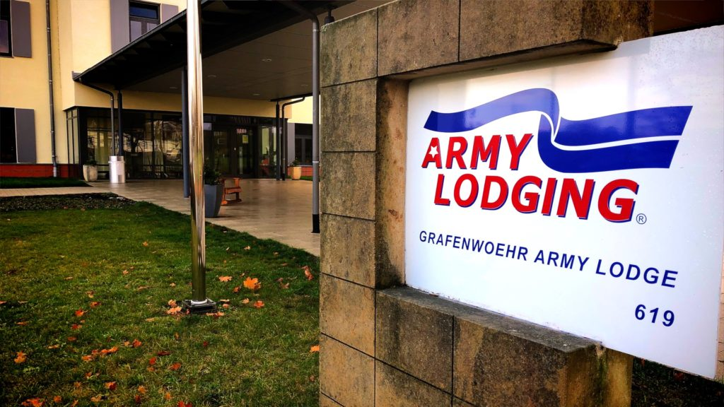 There are multiple Army Lodging hotels throughout Europe, and when you PCS to Germany, Army Lodging Grafenwoehr will be your temporary home!
