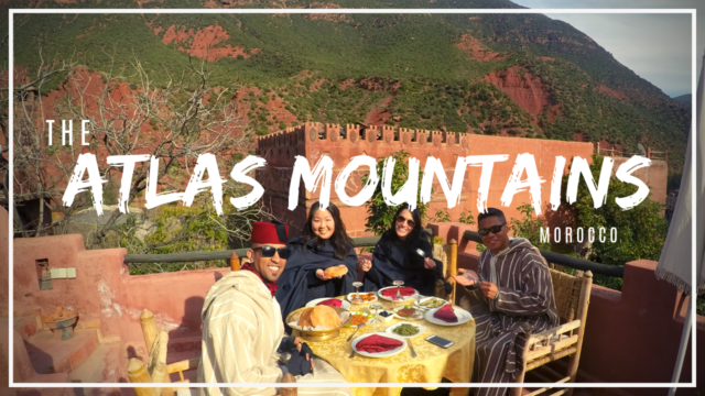 You have to visit the Atlas Mountains in Marrakech!