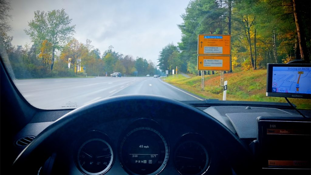 Driving in Germany is like driving in America, except better!