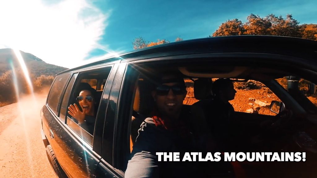 The Atlas Mountains is an easy Marrakech day drip - just hop in a cab and go!